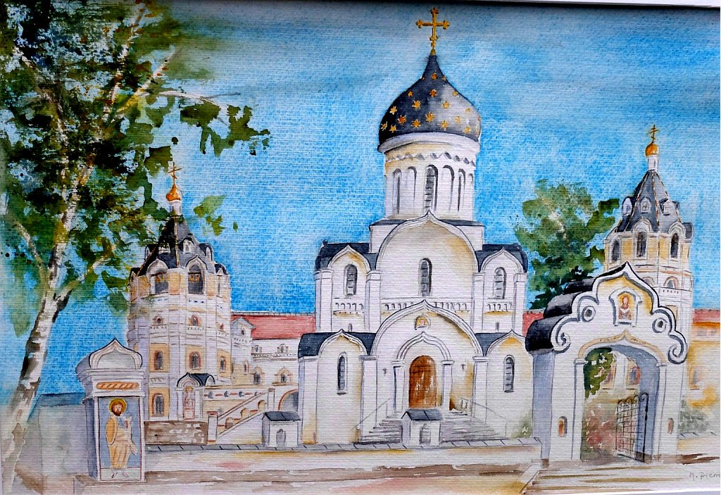 Eglise et Monastère Ste Elisabeth Minsk